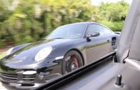 800HP Terminator Cobra battles Twin Turbo Porsche on the street