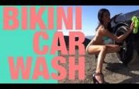 Abigail Ratchford Hot Car Wash