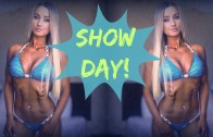 BIKINI COMPETITION PREP VLOG #13 | 1 Day Out, SHOW DAY, Contest Winner