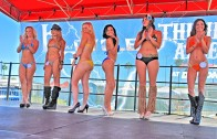 Bikini Contest LIttle bitty Bikini Main street, Hot Hooters