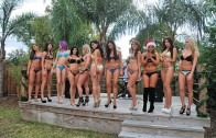 Bikini Contest Miss Harley Girl model Competition 2015 Round 1