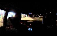 BMW 325ix vs. Golf R street race