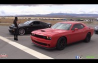 Challenger Hellcat takes on GT500 and Supra in Half Mile Racing!