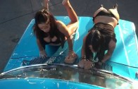 Dance Music & Beautiful Girls – Hot Car Wash Ford Truck