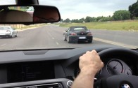 Honda S2000 vs BMW 535d street race