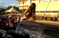 Hot Girl car wash