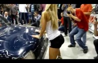 Myjnia Show HD Sexy Car Wash 2 dB Drag Girls @ MTM Moto Show Warszawa 2009 HD