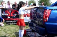 Myjnia Show HD Sexy Car Wash dB Drag Girls cz 1 @ Men's Day 2010 Bemowo Warszawa HD
