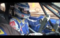 New Dacia Duster Racing Car with Driver Alain Prost