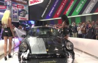 Sonax Car Wash Girls at the Essen Motor Show 2014
