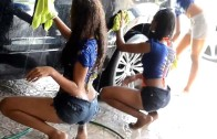 Trini Girls Car Wash