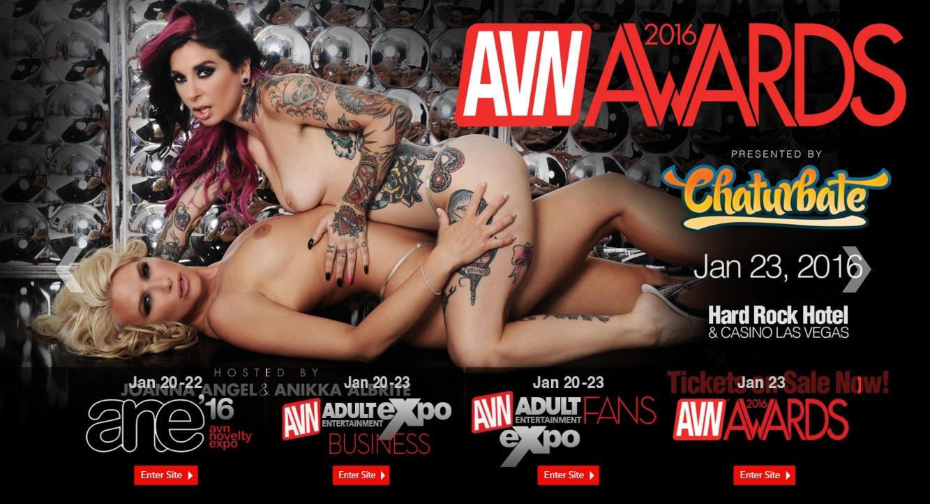 AVN 2016 Las Vegas – Jan 23 – Hard Rock Hotel