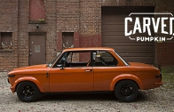 This BMW 2002 Is A Carved Pumpkin