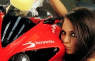 Babe Bike Wash featuring Lucy Pinder