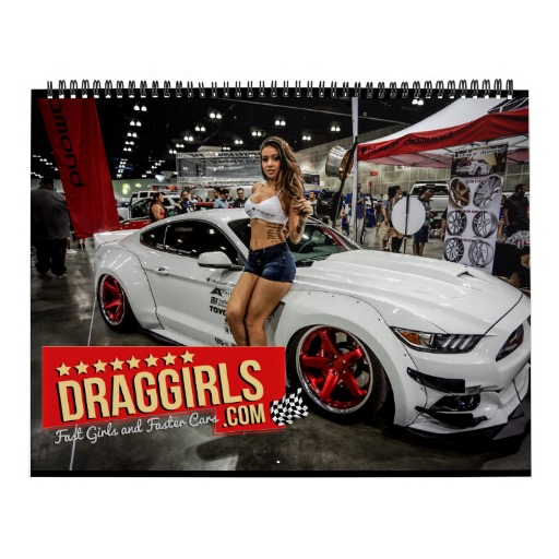 Car and Girls Custom Calendar