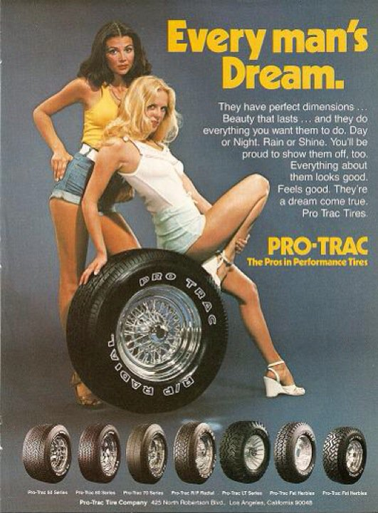 Sexy Car & Girls Ads from the 70's
