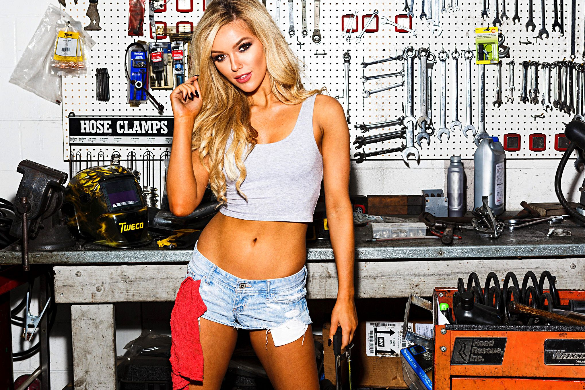 Courtney Riggs | New Nitto Tire Girl