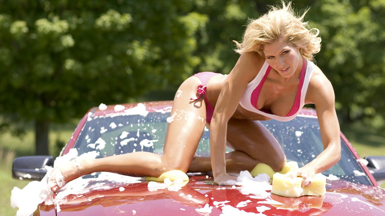 Torrie Wilson Car Wash