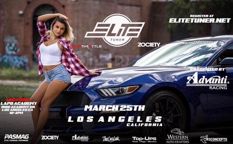 Faith Marone at Elite Tuner Show