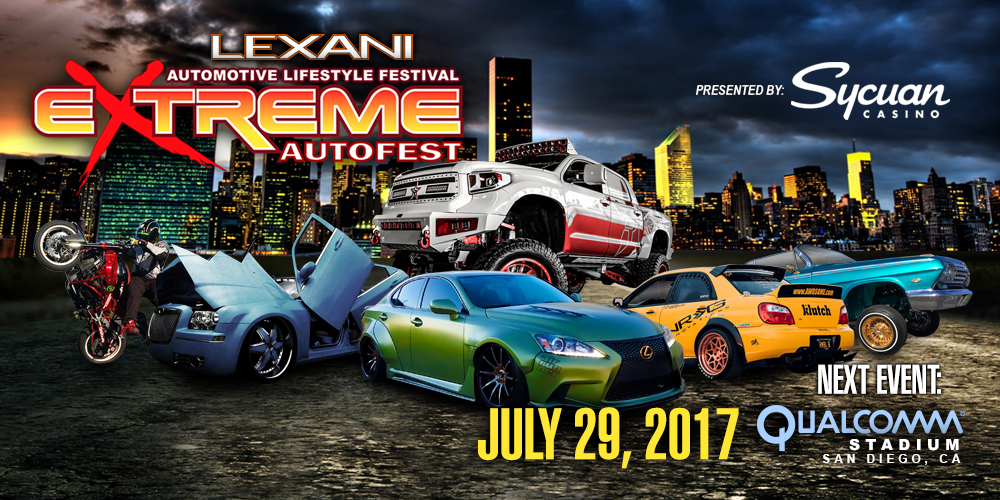 Extreme Autofest Tour Dates 2017