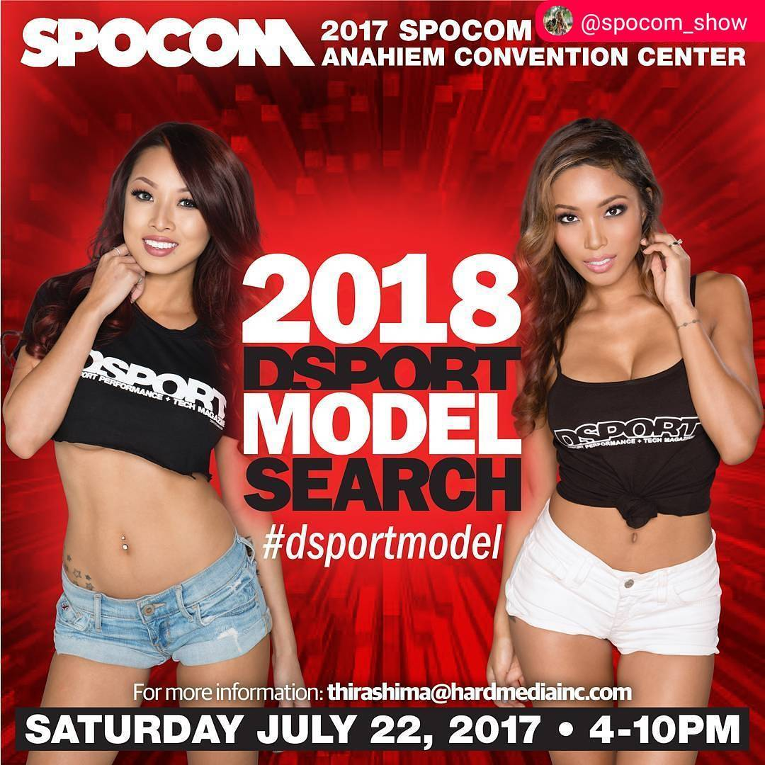 Spocom Model Search Anaheim July 22th  2017