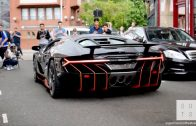 2 Million Lamborghini Centenario CAUSES CHAOS London