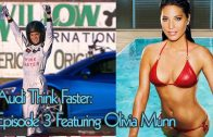 Audi Think Faster Episode 3 Featuring Olivia Munn
