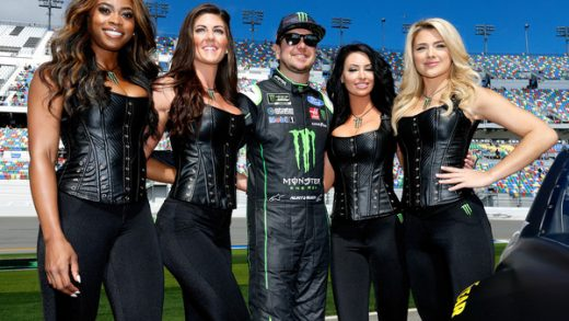NASCAR fans are outraged at the Monster Energy girls' revealing outfits