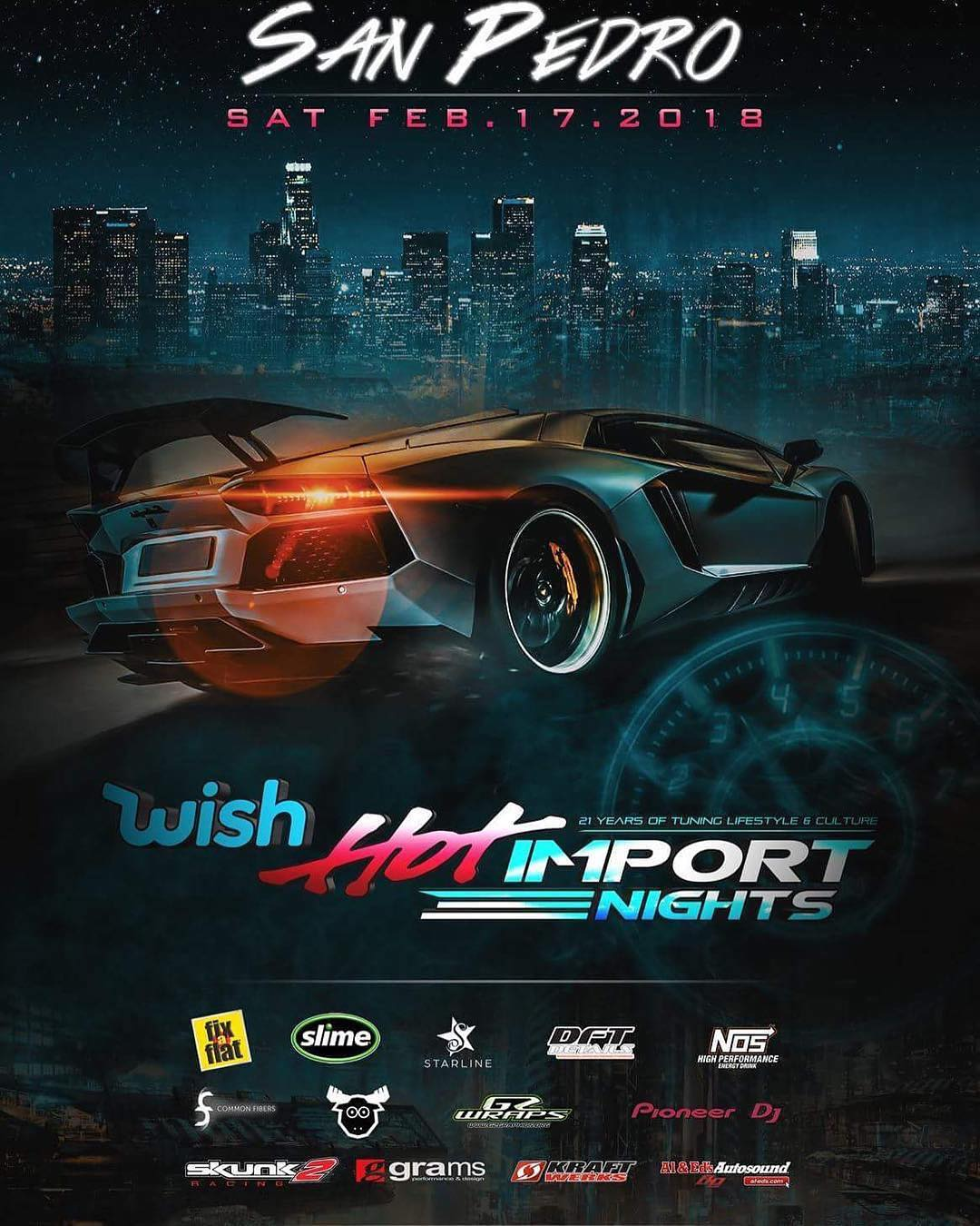 Hot Import Nights Tour Dates 2018