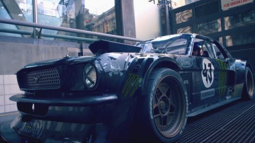 Ken Block Drifts London Director's Cut | Top Gear | BBC