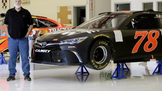 NASCAR CHAMPIONSHIP TEAM OWNER BARNEY VISSER