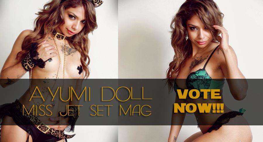 VOTE AYUMI DOLL for MISS JETSET MAG