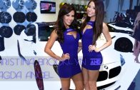 Christina Brooklyn & Magda Angel at SEMA
